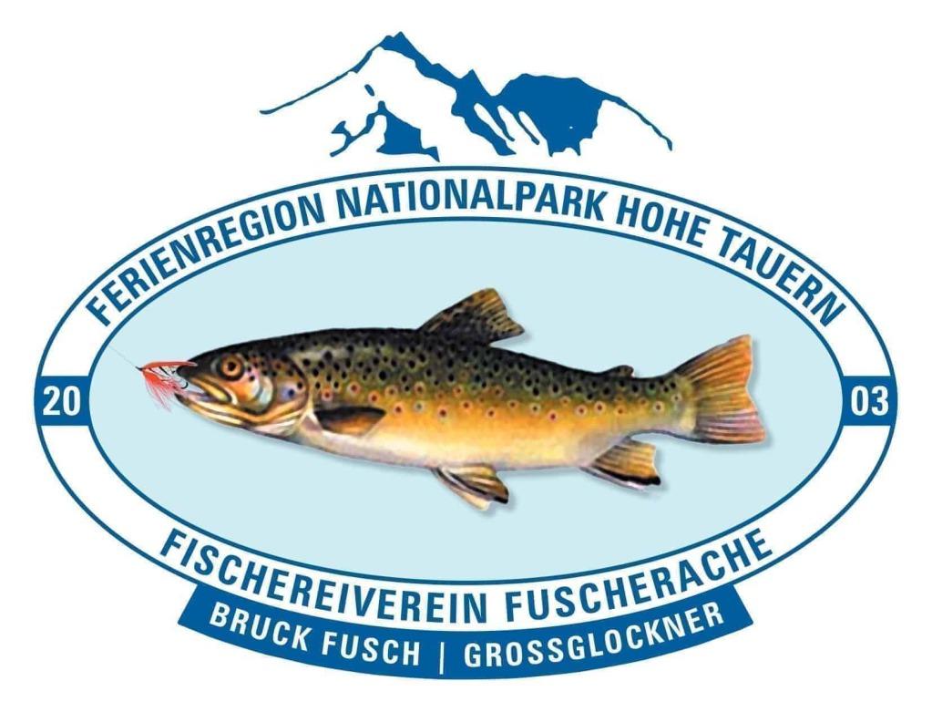 Logo Fischereiverein Fuscher Ache - Bruck Fusch - Großglockner