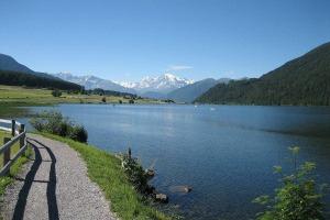 Abenteuer Fischwasser Region Haidersee Reschenpass Neu
