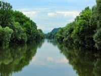Abenteuer Fischwasser Bild Steiermark Fluss Mur