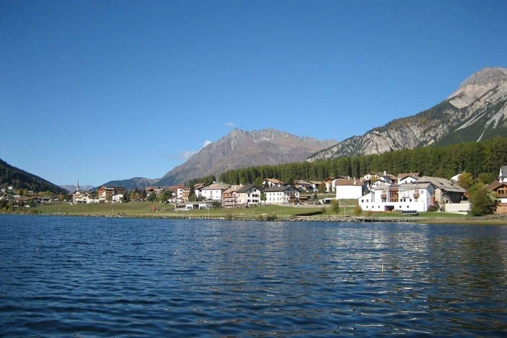 Abenteuer Fischwasser Region Haidersee Reschenpass