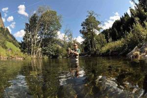 Abenteuer Fischwasser Gasthof zur Gams Neu